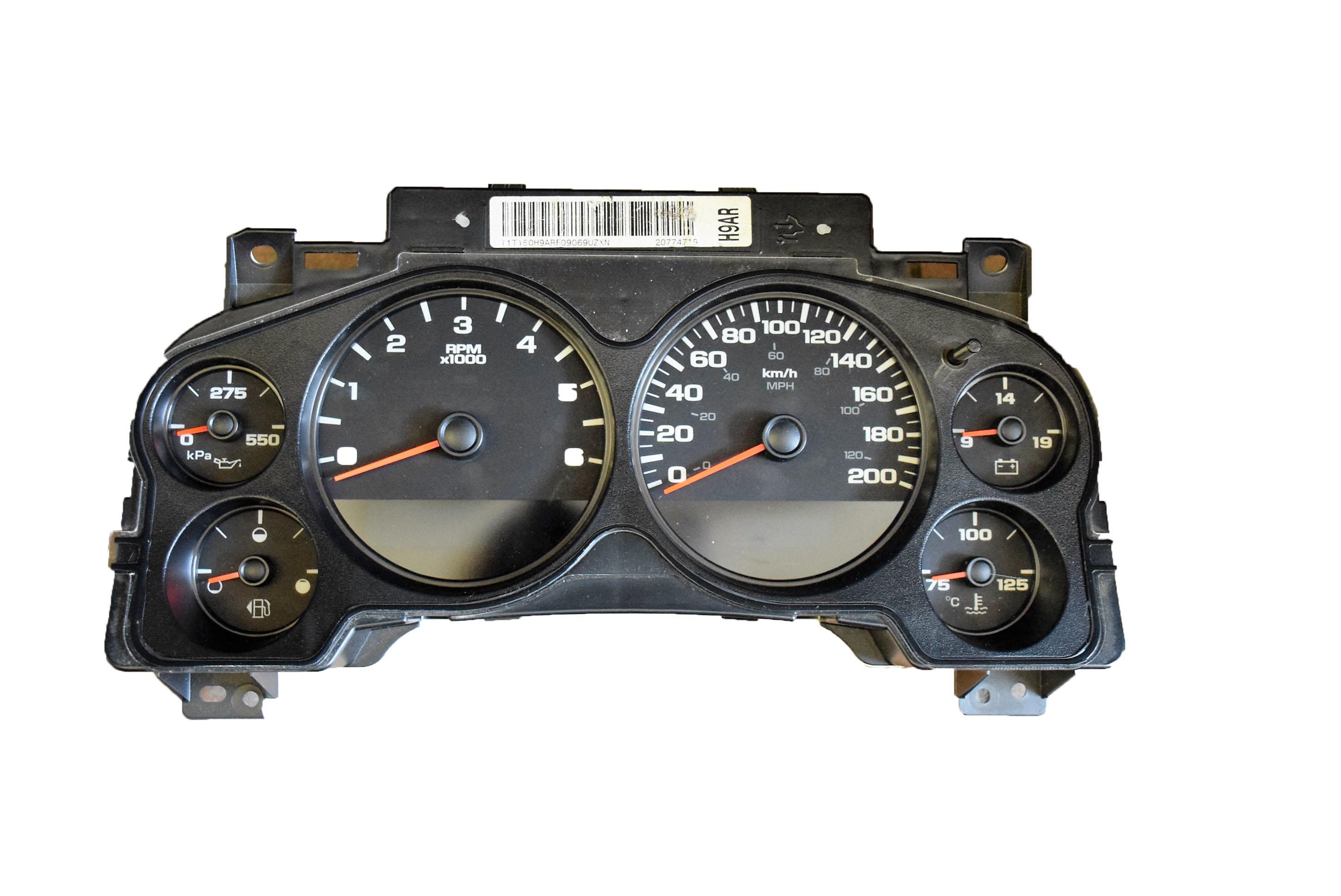 Chevy Silverado Odometer Repair Html Autos Post
